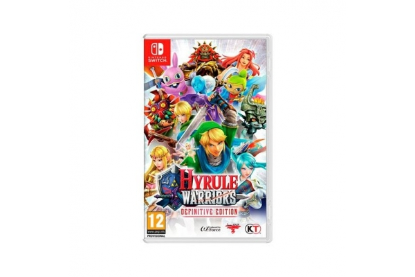JUEGO NINTENDO SWITCH HYRULE WARRIORS