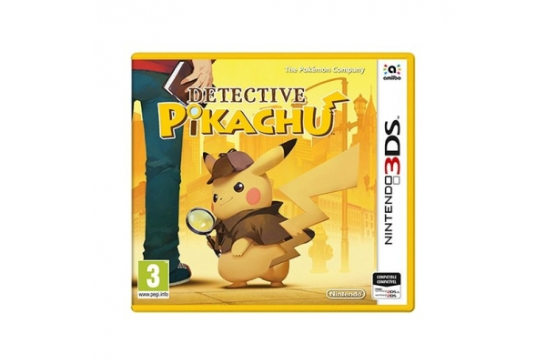 JUEGO NINTENDO 3DS DETECTIVE PIKACHU