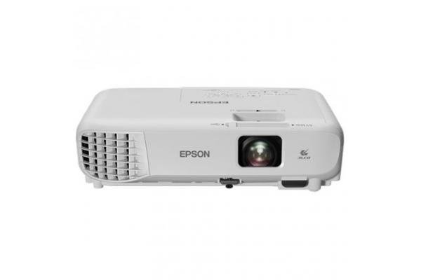 PROYECTOR PORTÁTIL 3LCD EPSON EB-S05 - 3200 LUMENES - 15000:1 - 800X600 SVGA - ZOOM DIG. 1.35X - VGA HDMI COMPUESTO USB - 2W OESP