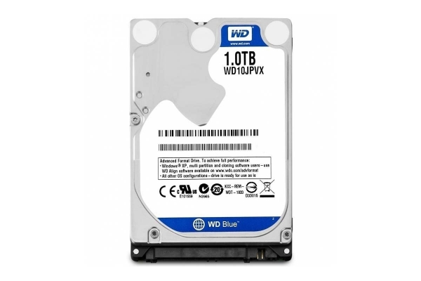 HD 2,5 1TB WESTERN DIGITAL SCORPIO BLUE SATA WD10JPVX garantia fab