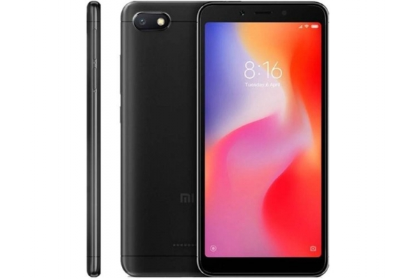 MOVIL SMARTPHONE XIAOMI REDMI 6A 2 32GB BLACK
