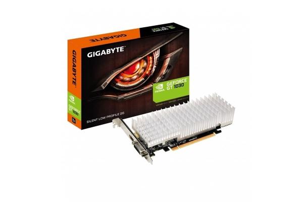 TARJETA GRAFICA GEFORCE GIGABYTE GT1030 2GB GV-N1030SL-2GL