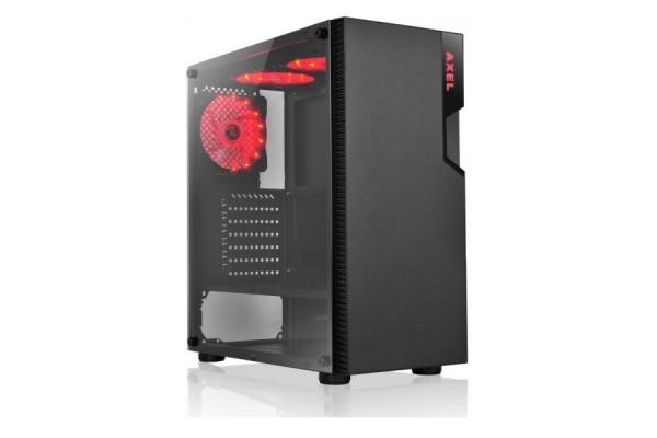 TORRE ATX L-LINK AXEL LED ROJO USB 3.0 CRISTAL TEMPLADO