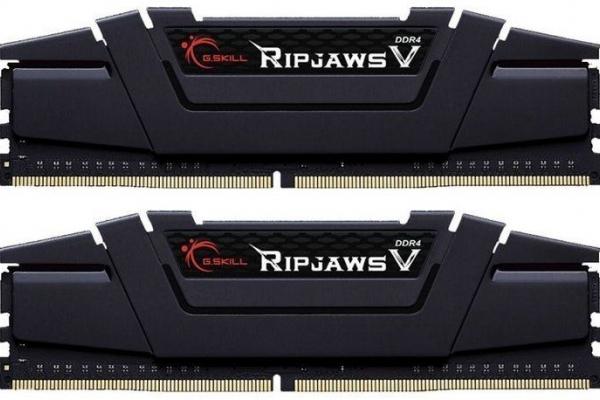MEMORIA 16GB(2X8GB) DDR4 3200 G.SKILL RIPJAWS F4-3200C16D-16GVKB