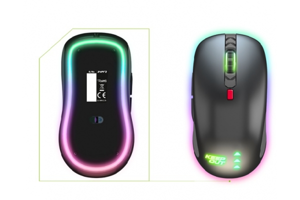 RATON GAMING KEEP OUT X5PRO 4000DPI