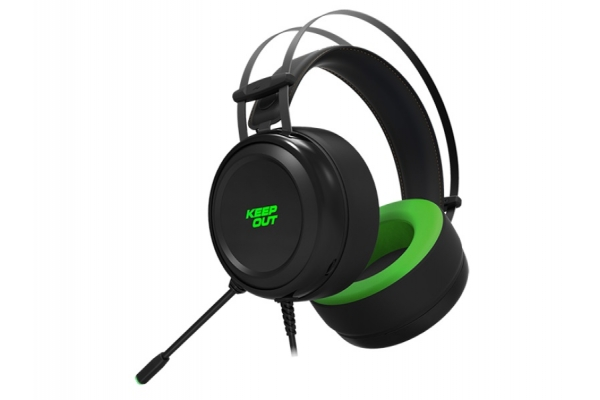 AURICULAR GAMING CON MC KEEP OUT 7.1 HX10 PC PS4