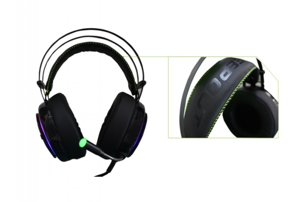 AURICULAR GAMING CON MC KEEP OUT 7.1 HXPRO RAINBOW PC/PS4