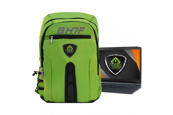 MOCHILA 15,6 GAMING KEEP OUT BACKPACK FULL BK7FG GREEN