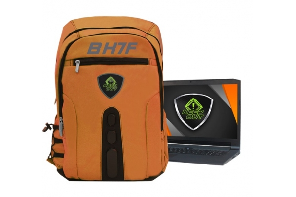 MOCHILA 15,6 GAMING KEEP OUT BACKPACK FULL BK7FO ORANGE