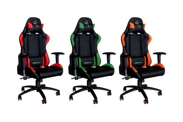 SILLA GAMING KEEP OUT XS200PROR RED/BLACK