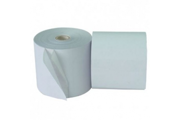 ROLLO PAPEL TERMICO 60MM X 55MM12MM