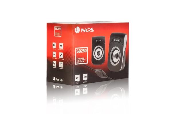 ALTAVOZ 2.0 NGS SB250 USB