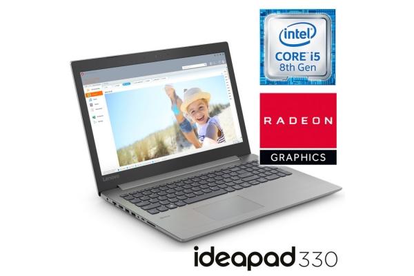 PORT�TIL LENOVO IDEAPAD 330-15IKBR 81DE014LSP 15,6/I5 8250U/8GB/SSD256GB/RADEON 530 2GB/W10H