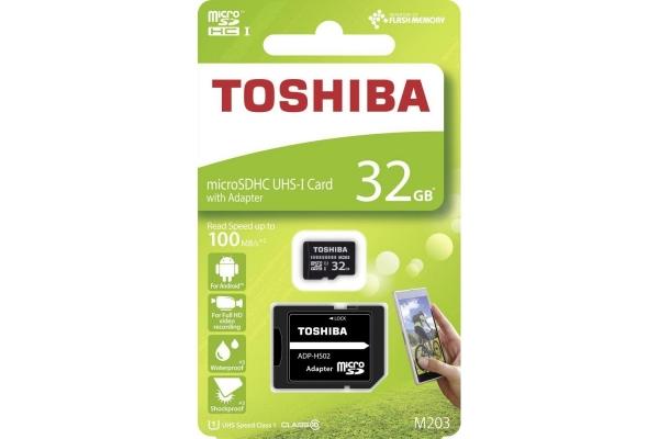 TARJETA MICRO SD TOSHIBA 32GB CLASE 10 THN-M203K032EA