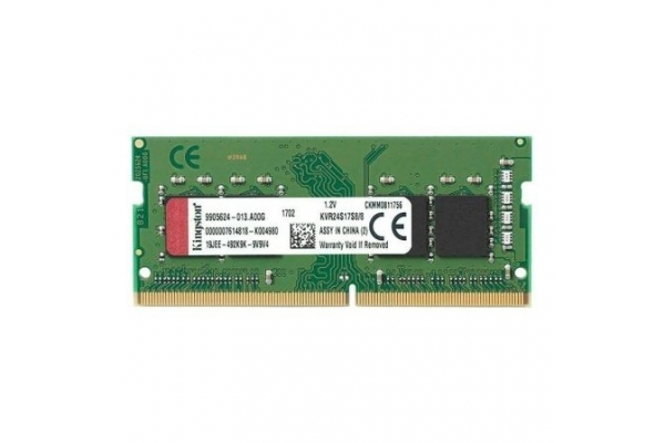 MEMORIA KINGSTON SODIMM 8GB DDR4 2400 KVR24S17S8 8