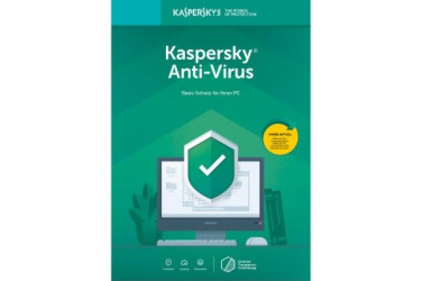 Kaspersky Anti-Virus 1-PC 1 año