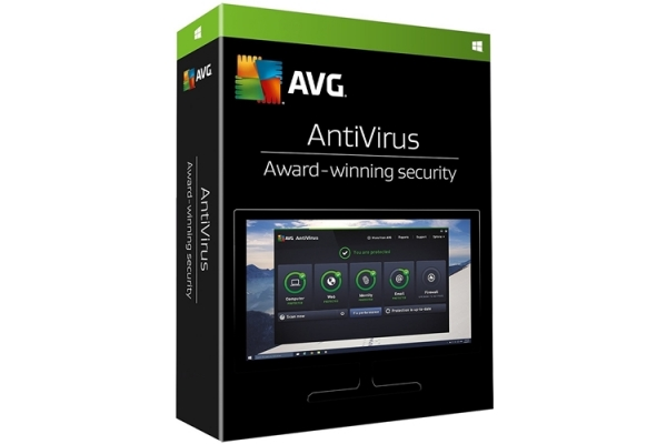 AVG Anti-Virus 2-PC 1 year