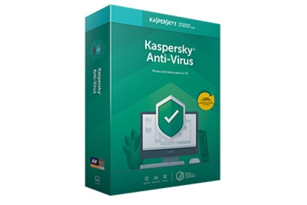 Kaspersky Anti-Virus 3-PC 1 año extensión