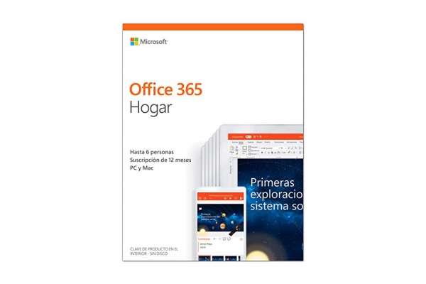 Microsoft Office 365 Home 6-PC MAC 1 año