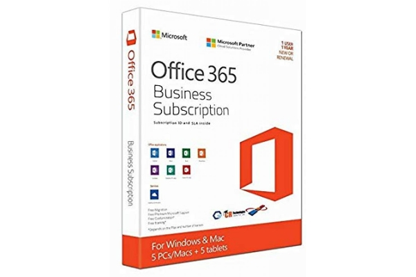 Microsoft Office 365 Business Premium 5-PC MAC 1 año