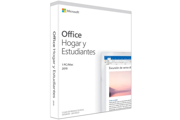 LICENCIA MICROSOFT OFFICE HOME & STUDENT 2019 - 1PC MAC - WORD - EXCEL - POWERPOINT - ONE NOTE