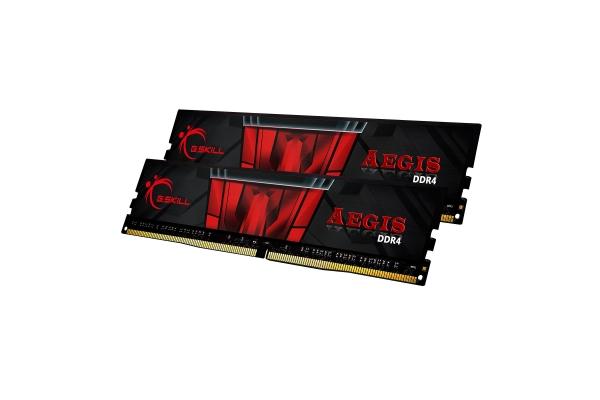 MEMORIA 16GB(2X8GB) DDR4 3000 G.SKILL AEGIS F4-3000C16D-16GISB