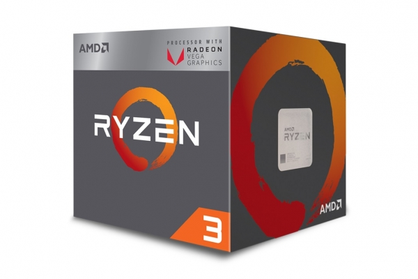 MICROPROCESADOR AMD RYZEN 3 3200G AM4 3,5GHZ RADEON VEGA 8 GRAPHICS