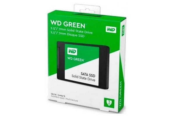 SSD WESTERN DIGITAL GREEN 480GB WDS480G2G0A