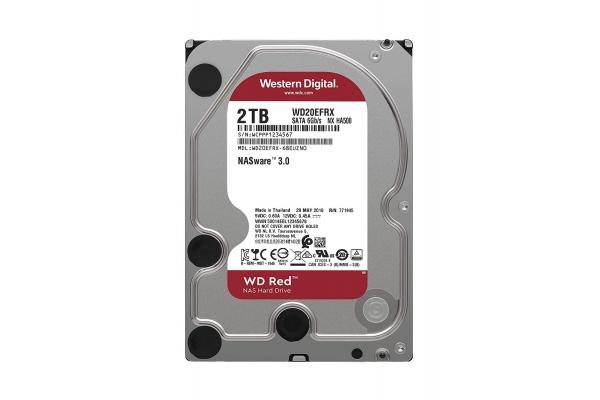 HD 3,5 2TB WESTERN DIGITAL NAS RED WD20EFRX