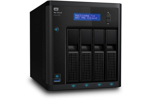 SERVIDOR NAS WESTERN DIGITAL MY CLOUD EX4100