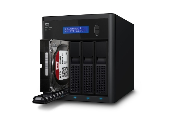 SERVIDOR NAS MY CLOUD EX4100, 24TB