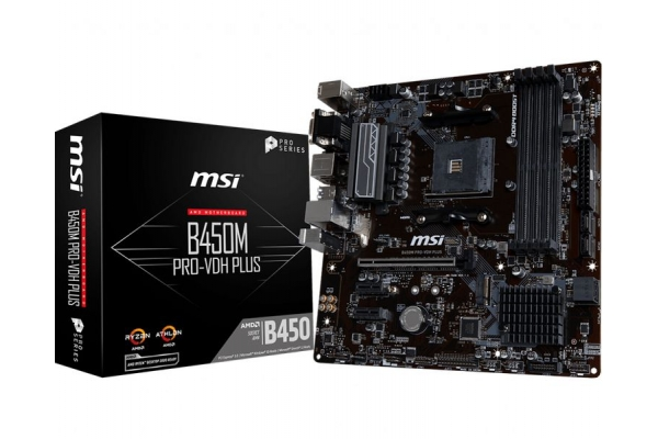 PLACA BASE MSI AM4 B450M PRO-VDH PLUS