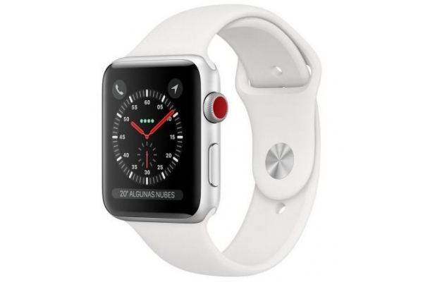 APPLE WATCH SERIES 3 GPS CELL 42MM SILVER