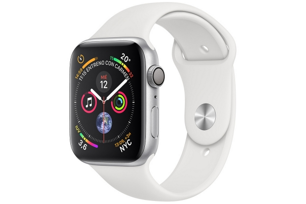 APPLE WATCH SERIES 4 GPS CELL 40MM SILVER