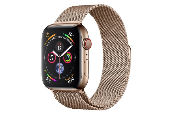 APPLE WATCH SERIES 4 GPS CELL 40MM GOLD STAINLESS