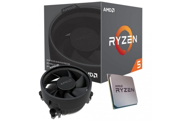MICROPROCESADOR AMD AM4 RYZEN 5 3600X 6X4.4GHZ 36MB BOX