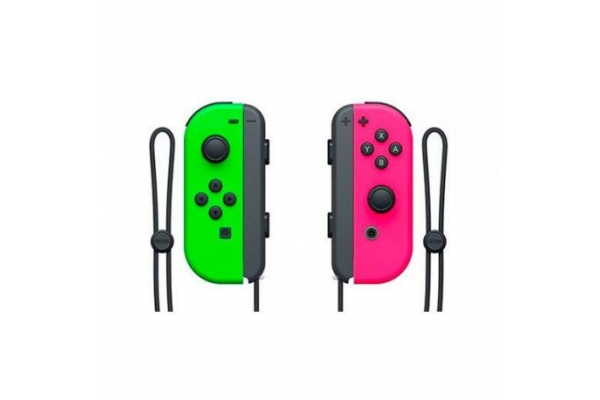 GAMEPAD NINTENDO SWITCH JOY-CON VERDE ROSA