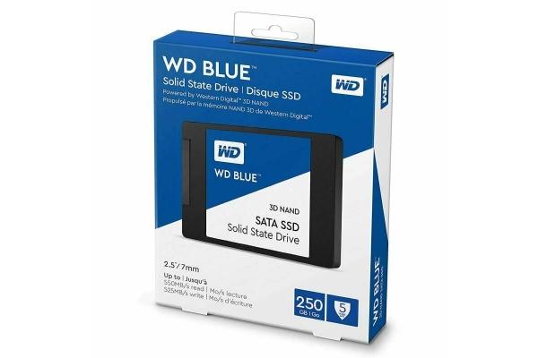 SSD 250GB WESTERN DIGITAL BLUE WDS250G2B0A