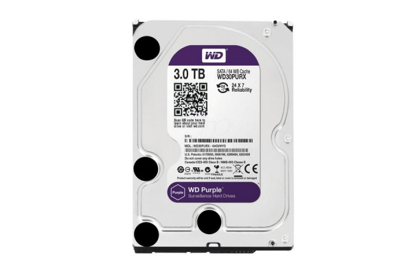 HD 3,5 3TB WESTERN DIGITAL PURPLE WD30PURZ