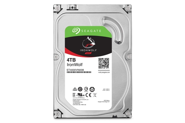 HD 3,5 4TB SEAGATE IRONWOLF ST4000VN008