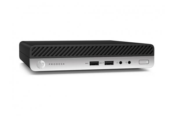 ORDENADOR HP PRODESK 400 G4 MINI I5 8500/4GB/1TB+1TB/W10P