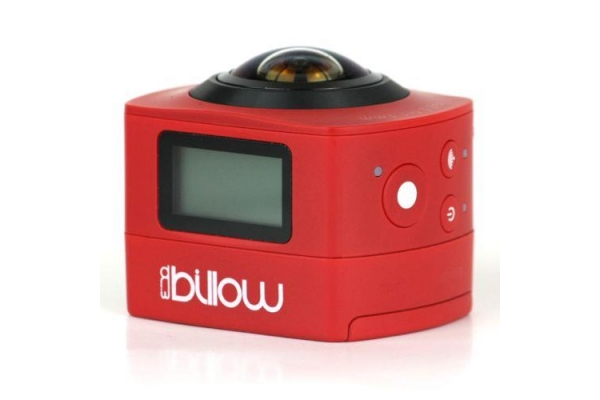 VIDEOCAMARA DEPORTIVA BILLOW FULL HD ROJO