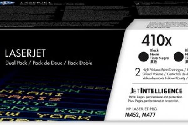 PACK 2 TONER HP 410X