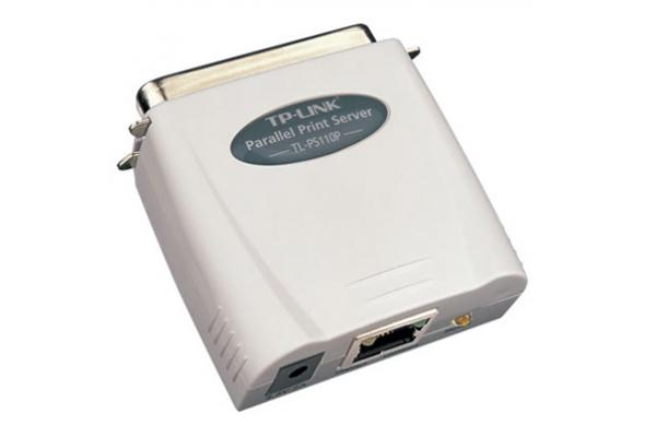 REDES TP-LINK PRINT SERVER PS110P PARALELO FETH