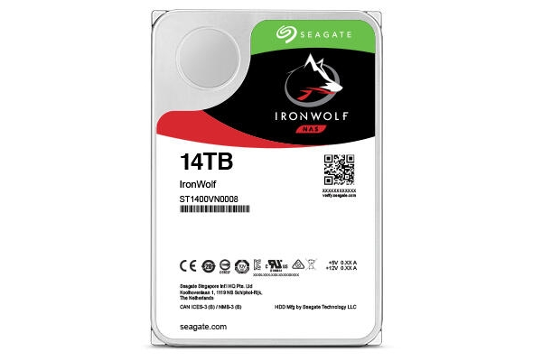 HD 3,5 14TB SEAGATE IRONWOLF NAS ST14000VN0008