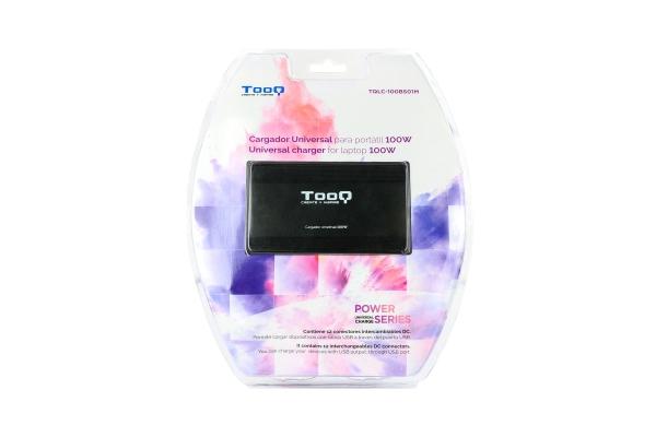 CARGADOR UNIVERSAL TOOQ TQLC-100BS01M 100W 3 EN 1 USB