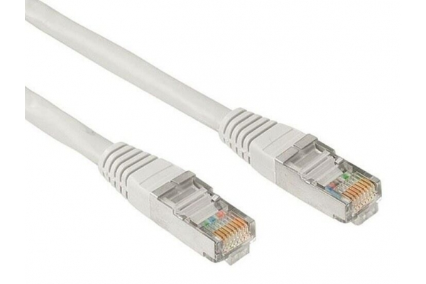 CABLE RED RJ45 CAT.6 UTP AWG24 0.5 M NANOCABLE 10.20.0400-W