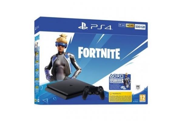 PLAYSTATION 4 SLIM  500GB + FORTNITE VOUCHER 2019