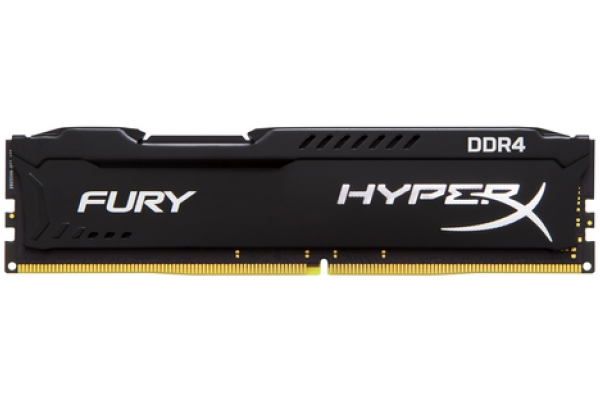 MEMORIA 8GB KINGSTON DDR4 2400 HYPERX FURY BLACK