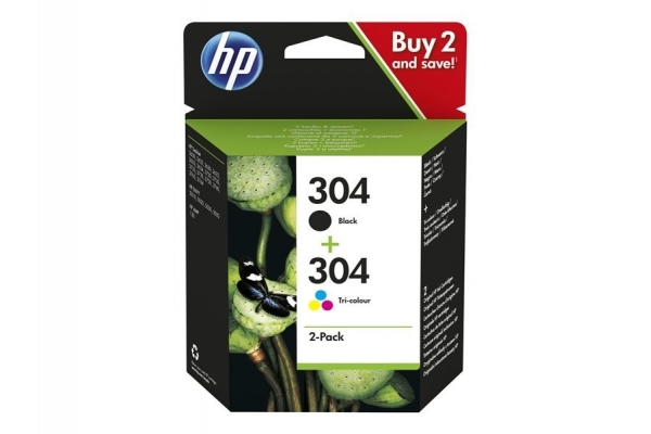 MULTIPACK 2 CARTUCHOS HP 304 1 304 NEGRO 1 304 COLOR